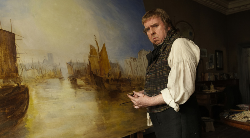 Timothy Spall stars as J.M.W Turner.